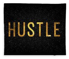 Hustle Fleece Blanket