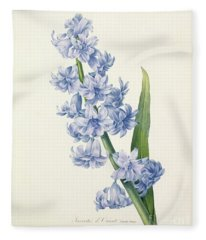 Hyacinth Fleece Blanket