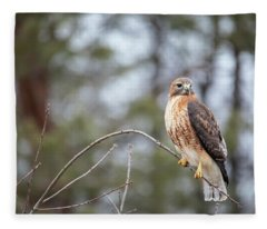 Hybrid Branch Fleece Blanket