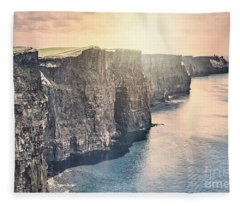 Hymn Of The Cliffs Fleece Blanket