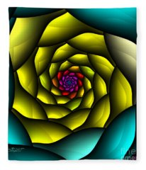 Hypnosis Fleece Blanket