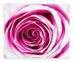 Hypnotic Pink Fleece Blanket
