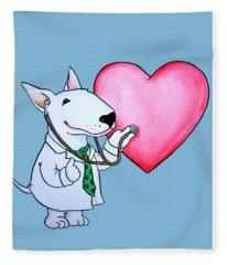 I Am Your Dogtor Fleece Blanket