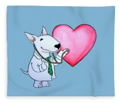 I Am Your Dogtor Fleece Blanket