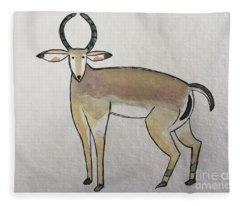I Is For Impala Fleece Blanket