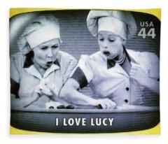 I Love Lucy Fleece Blanket