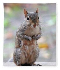 I Love Peanuts Fleece Blanket