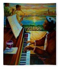 I Love This Music Fleece Blanket