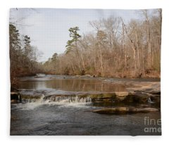 I Love To Go A Wanderin' Yellow River Park -georgia Fleece Blanket
