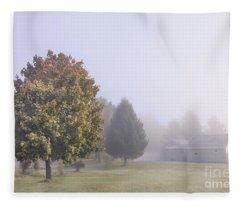I Scent The Morning Air Fleece Blanket