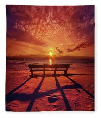 I Will Always Be With You Fleece Blanket