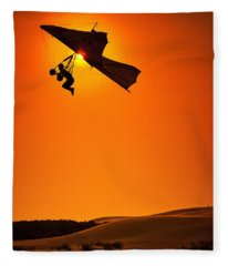 Icarus Fleece Blanket