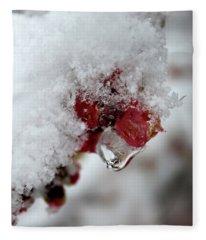 Ice Drip Fleece Blanket