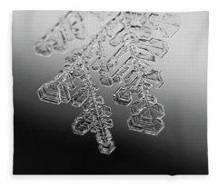 Ice Feather Fleece Blanket