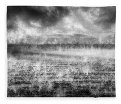 Ice Fog  Fleece Blanket