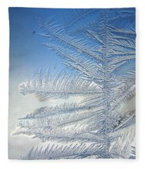 Ice Tree Fleece Blanket