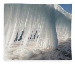 Iced Catwalk Fleece Blanket