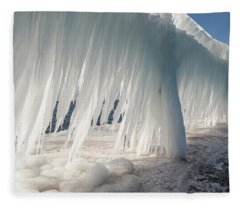 Iced Catwalk Fleece Blanket