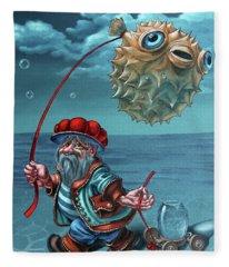 Ichthyologist Fleece Blanket