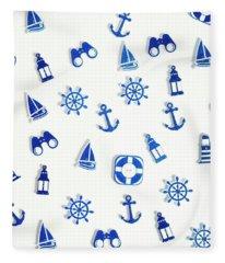 Iconic Nautics Fleece Blanket