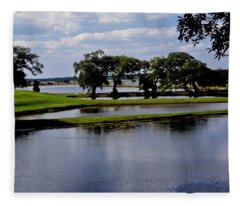 Charleston South Carolina Fleece Blanket