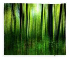 If A Tree Fleece Blanket