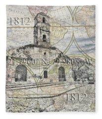Iglesia De Santa Ana Passport Fleece Blanket