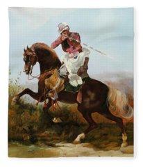 Il Fucilatore Di Sassi Fleece Blanket