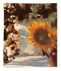 Il Girasole Fleece Blanket