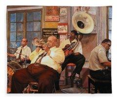 Il Quintetto Fleece Blanket
