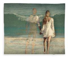 I'll Always Be Beside You Fleece Blanket