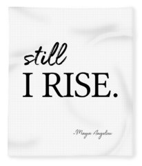 I'll Rise #minimalism 3 Fleece Blanket