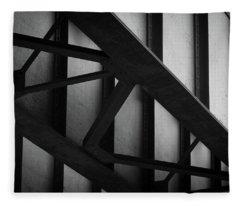 Illinois Terminal Bridge Fleece Blanket