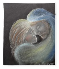 Illuminating Love Fleece Blanket