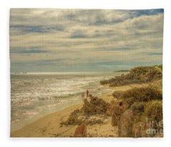 Iluka, Western Australia Fleece Blanket
