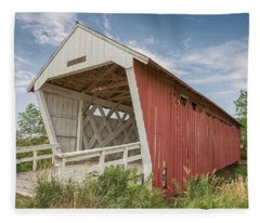 Imes Covered Bridge Fleece Blanket