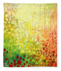 Immersed No 2 Fleece Blanket