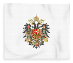 Imperial Coat Of Arms Of The Empire Of Austria-hungary Transparent Fleece Blanket