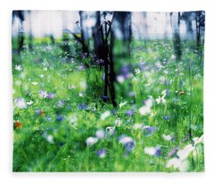 Impressionistic Photography At Meggido 1 Fleece Blanket