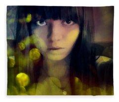 In A World Of Dream Bubbles Fleece Blanket