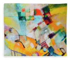 In And Out Fleece Blanket