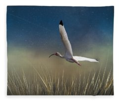 In Flight 1 Fleece Blanket