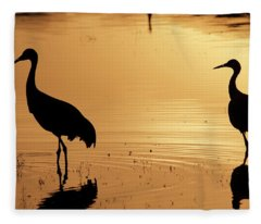 Fleece Blanket featuring the photograph In Love Again by Michael Lucarelli