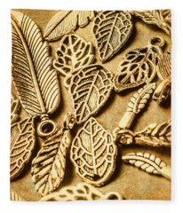 In Ornamental Nature Fleece Blanket