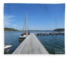 In Stensund Fleece Blanket
