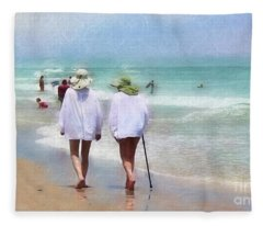 In Step With Life Fleece Blanket