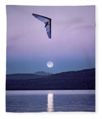 In The Air Tonight Fleece Blanket