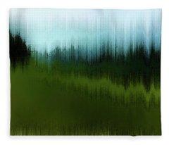 In The Black Forest Fleece Blanket