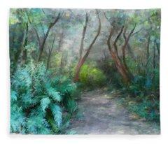 In The Bush Fleece Blanket