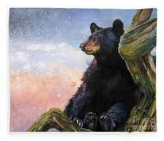 In The Eyes Of Innocence  Fleece Blanket